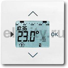 Термостат електронный программируемый, с выносным датчиком, для электрического подогрева пола 230 В~ 8А, белый бархат