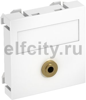 Мультимедийная рамка Audio-Klinke Modul45 (белый)