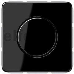 Диммер (светорегулятор) поворотный 20-525 Вт для ламп накаливания и галогенных 220В, черный