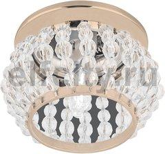 Точечный светильник Brilliance Ball, кристалл/золото