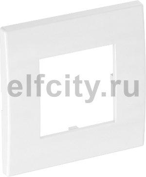 Рамка одинарная Modul45 (универс.,84x84 мм,белый)