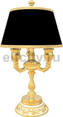 Точечный светильник Table Lamp Portofino, Gold White Patina