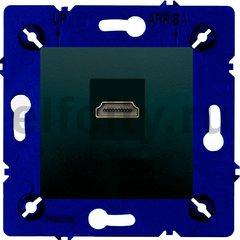 Розетка HDMI, для серии Marco, черный