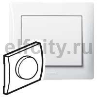Лицевая панель - Galea Life - для поворотных светорегуляторов 400 Вт, 600 Вт Кат. № 7 756 54 - White