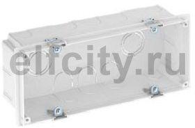 Монтажная коробка для скрытого монтажа на 3 Modul45 (180x77 мм)