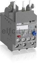 Реле перегрузки тепловое TF42-0.41 диапазон уставки 0,31…0,41А для контакторов AF09-AF38