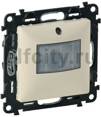Автоматический выключатель с нейтраллю, 230 В~ , 0-50 Вт для светодиодных ламп, 0-400 Вт для ламп накаливания, слоновая кость
