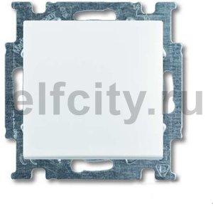 Выключатель одноклавишный, проходной (вкл/выкл с 2-х мест), 10 А / 250 В, альпийский белый
