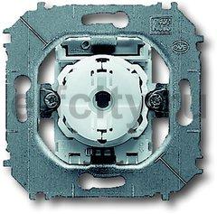 Механизм 1-клавишного проходного переключателя 10А 250В, серия impuls