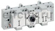 Перекидной выключатель-разъединитель DCX-M - 63 А - типоразмер 1 - 3П+Н - винтовые зажимы