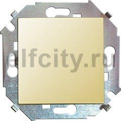 Выключатель одноклавишный, перекресный (вкл/выкл 3-х мест), 10 A / 250 B, слоновая кость