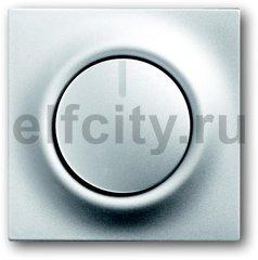 Диммер (светорегулятор) поворотный 60-600 Вт для ламп накаливания и галогенных 220В, серебристый алюминий