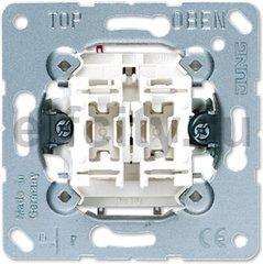 Выключатель 2-клавишный 10АХ, 250В АС