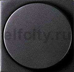 Механизм поворотно-нажимного светорегулятора 2-100Вт для димируемых LEDi ламп, 230В (+-10%) 50Гц, антрацит
