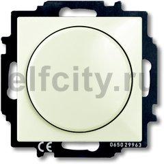 Диммер (светорегулятор) поворотный 60-400 Вт для ламп накаливания и галогенных 220В, шале-белый