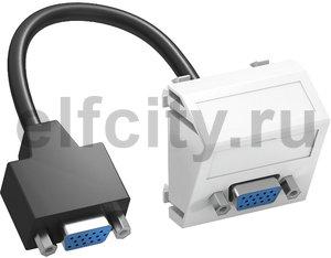 Мультимедийная рамка VGA Modul45 (белый)