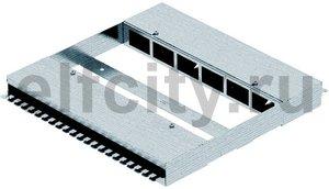 Распределитель энергии для фальш-пола 400x420x50 мм для 2x6 FLF-разъема (сталь)