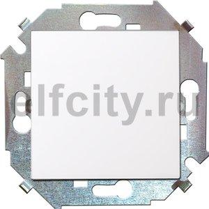 Выключатель одноклавишный, проходной (вкл/выкл с 2-х мест), 10 А / 250 В, белый