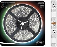 Лента LED 5050/60-SMD 14.4W 12V DC RGB (блистер 5м)