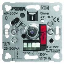 435 HAN O.A. Мех-м светорегулятора 600W, для низковольтных галогенных ламп