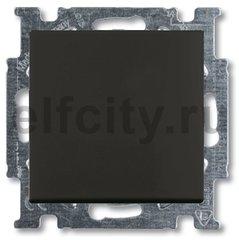 Выключатель одноклавишный, 10 А / 250 В, шато-черный