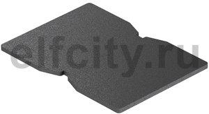 Резиновая подкладка для электромонтажной колонны ISS 140x100x4 мм (резина)