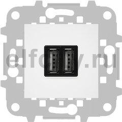 Зарядное USB устройство на два выхода, 2х750 мА / 1х1500 мА, белый