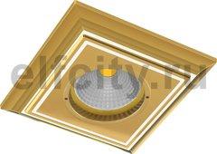 Точечный светильник New Padova, Gold White Patina
