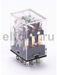 Промежуточное реле 3 конт. с инд. LED 5А 12В AC ПР-1