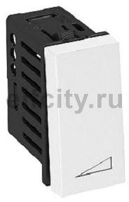 Диммер клавишный для электронных трансформаторов и индуктивных нагрузок 45x22,5 мм (черный)