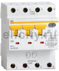 АВДТ 34 C10 10мА - Автоматический Выключатель Дифф. тока