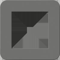 Рамка E3 Soft Touch (soft touch темно-серый/антрацит)