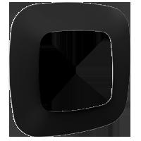 Рамка Valena Allure (матовый чорный)