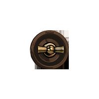 Клавиша Venezia Metal (бронза / коричневый)