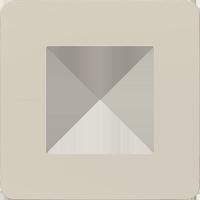 Рамка Unica Studio Color (шампань/белый)