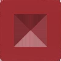 Рамка Unica Studio Color (красный/белый)