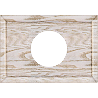Рамка Прямоугольник (выбеленный дуб с золотой патиной)