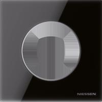 Рамка Skymoon (черное стекло)