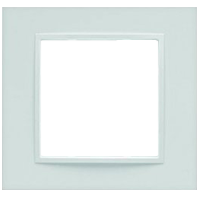 Рамка B.7 (белый матовый)