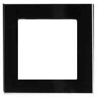 Рамка Atlas Design Nature (черное стекло)