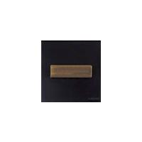 Клавиша Venezia Metal Square (бронза / коричневый)