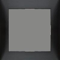 Рамка S.1 (пластик антрацит)