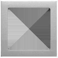 Рамка Q.1 (алюминиевый, с эффектом бархата)