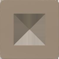 Рамка Unica Studio Color (песочный/белый)