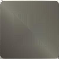 Рамка Unica Studio Metal (никель/антрацит)