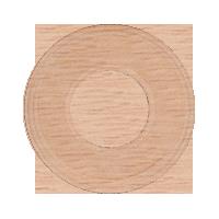 Рамка Восьмерка (дуб не крашенный)