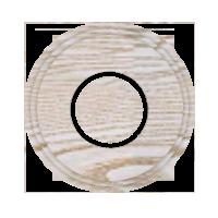 Рамка Восьмерка (выбеленный дуб с золотой патиной)
