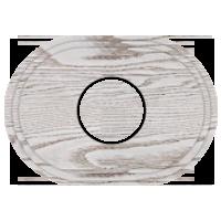 Рамка Овал (выбеленный дуб с коричневой патиной)