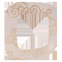 Рамка Valena Allure (нарцисс золото)