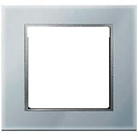 Рамка B.7 Glass (стекло алюминий)